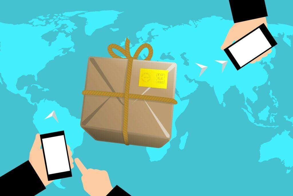 Sledování zásilky z Číny