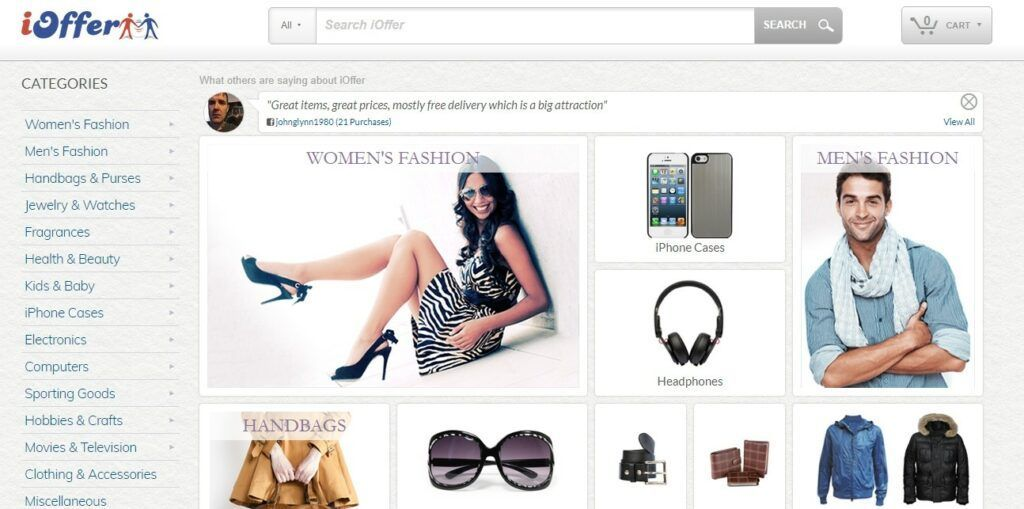 iOffer – recenze, jak nakupovat?