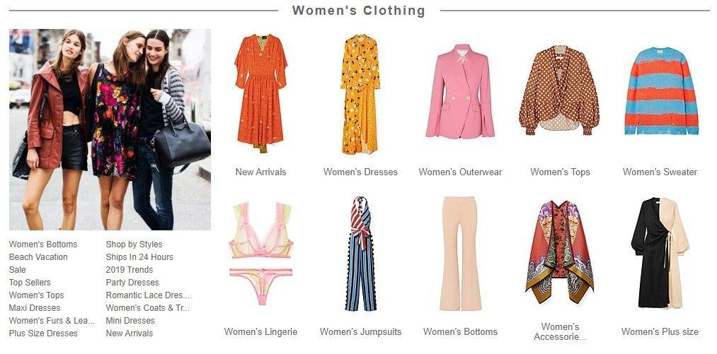 Tento e-shop si zákazníci oblíbili zejména pro jeho širokou nabídku levného oblečení.