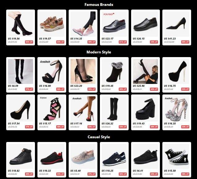 AliExpress má opravdu neuvěřitelné množství zboží v jednotlivých kategoriích.