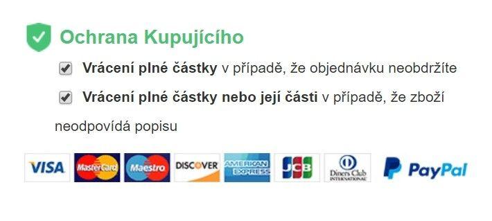 Internetový obchod Vova se zavazuje k ochraně kupujícího.