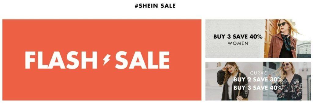 Využít lze i tzv. flash sale neboli bleskovou slevu. Tato sleva má pouze krátké trvání, je tedy třeba nakoupit rychle.