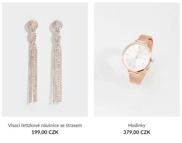 V sekci bižuterie jsou k sehnání elegantní hodinky za 379 Kč.