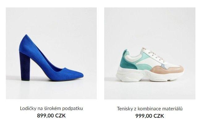 Zákaznice si i v nabídce bot mohou vybrat z mnoha barev i stylů.