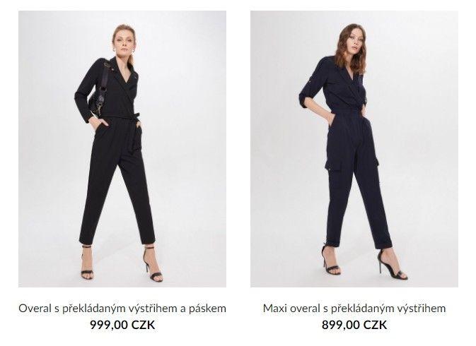 Alternativou k šatům mohou být trendy overaly.
