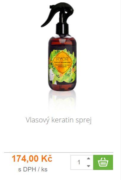 Vlasový sprej s keratinem je vhodný pro vlasy poškozené, vysušené či lámavé.