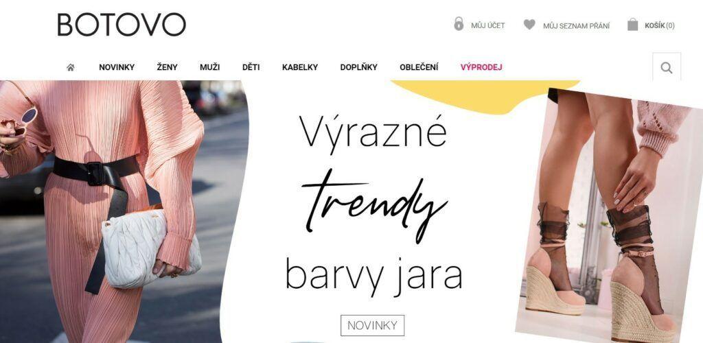 Botovo.cz – recenze, široká nabídka obuvi i oblečení