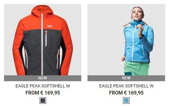 K nalezení jsou bundy na běhání, bundy určené k zimním sportům, na cyklistiku či na každodenní nošení.