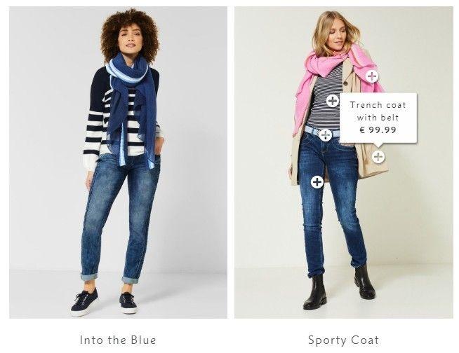 Při brouzdání po stránkách tohoto e-shopu se může zákazník inspirovat v sekci Inspirations.