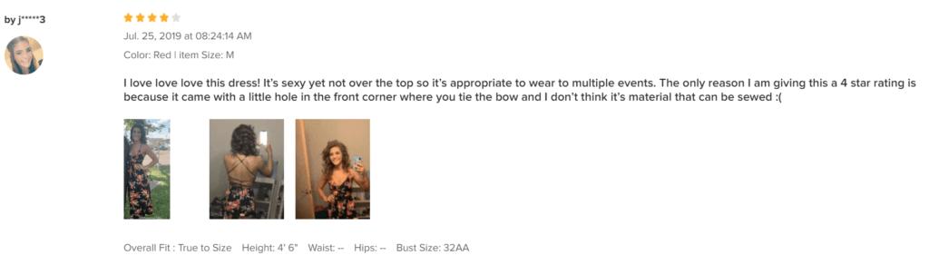 Recenze oblečení Zaful mohou pomoci při rozhodování, zda daný produkt vložit do nákupního košíku.