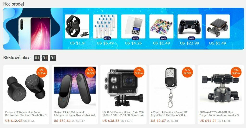 S nízkými cenami se pojí jisté riziko reklamace zboží z Číny.
