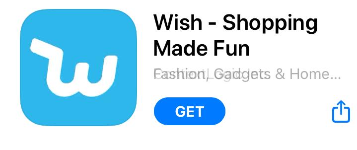 Díky mobilní aplikaci Wish je možné snadno nakupovat pomocí mobilního telefonu.