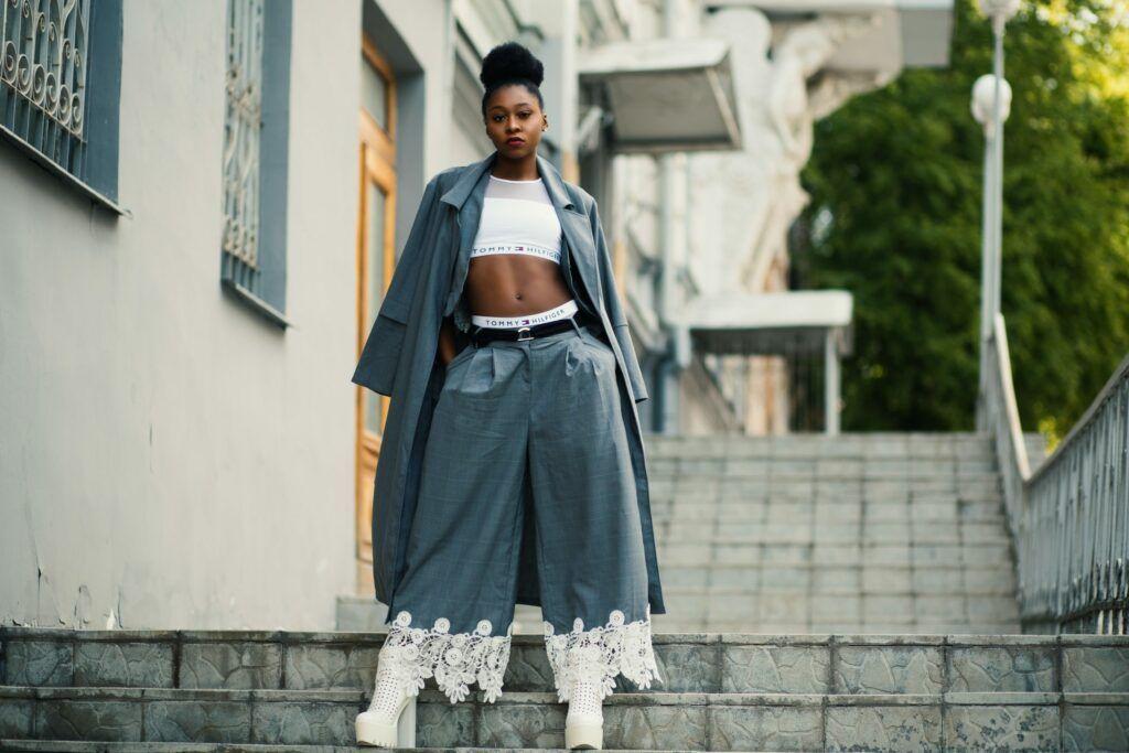 Harémové kalhoty – dámské, elegantní