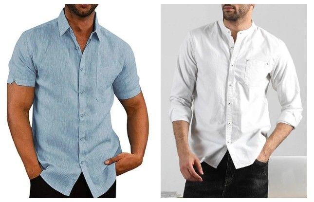 Oblíbenou kategorií pánského oblečení jsou košile.