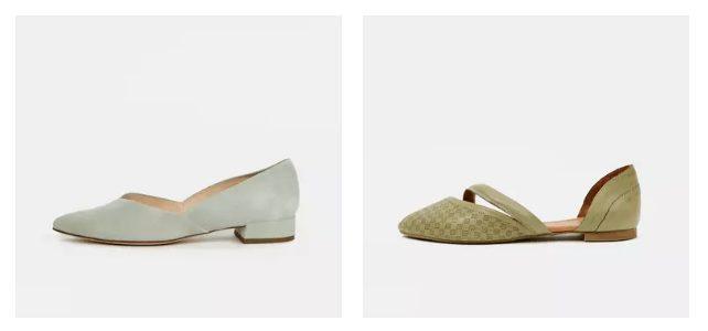 Baleríny jsou stejně jako sandálky vhodné téměř k jakémukoliv oblečení.