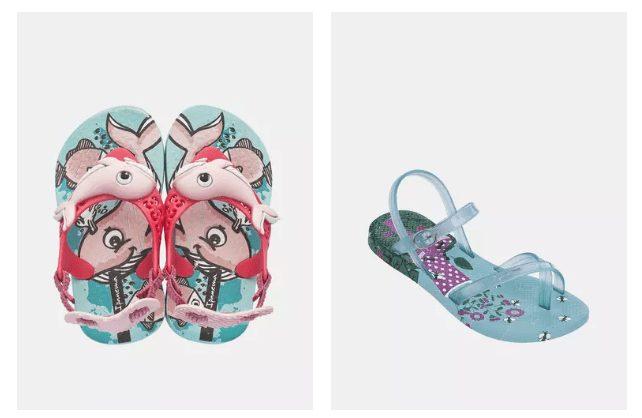 Zoot se svou nabídkou bot myslí i na ty nejmenší.